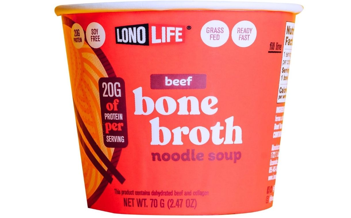 LonoLife to launch Bone Broth Noodle Soups