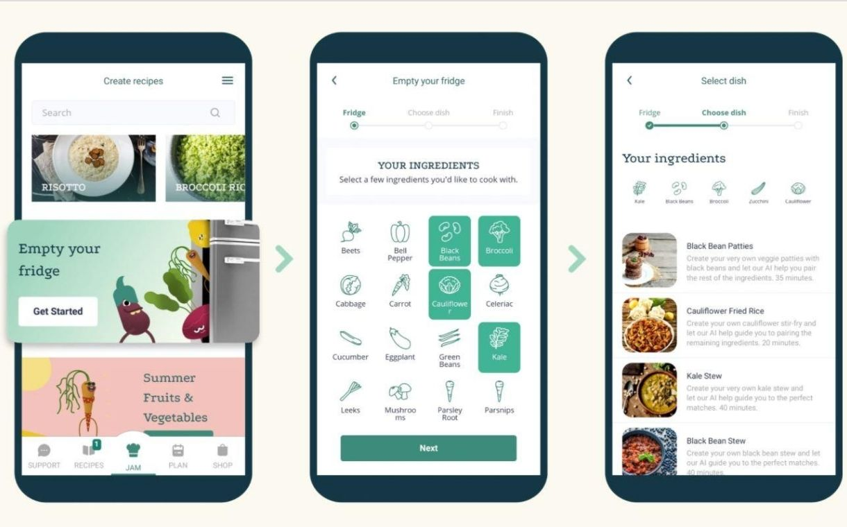 Plant Jammer secures 4m euros in funding for its AI recipe technology