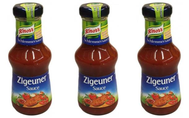 Unilever to rename its Knorr brand's 'gypsy sauce'