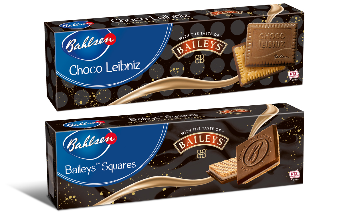 Bahlsen unveils limited-edition Baileys-flavoured biscuits
