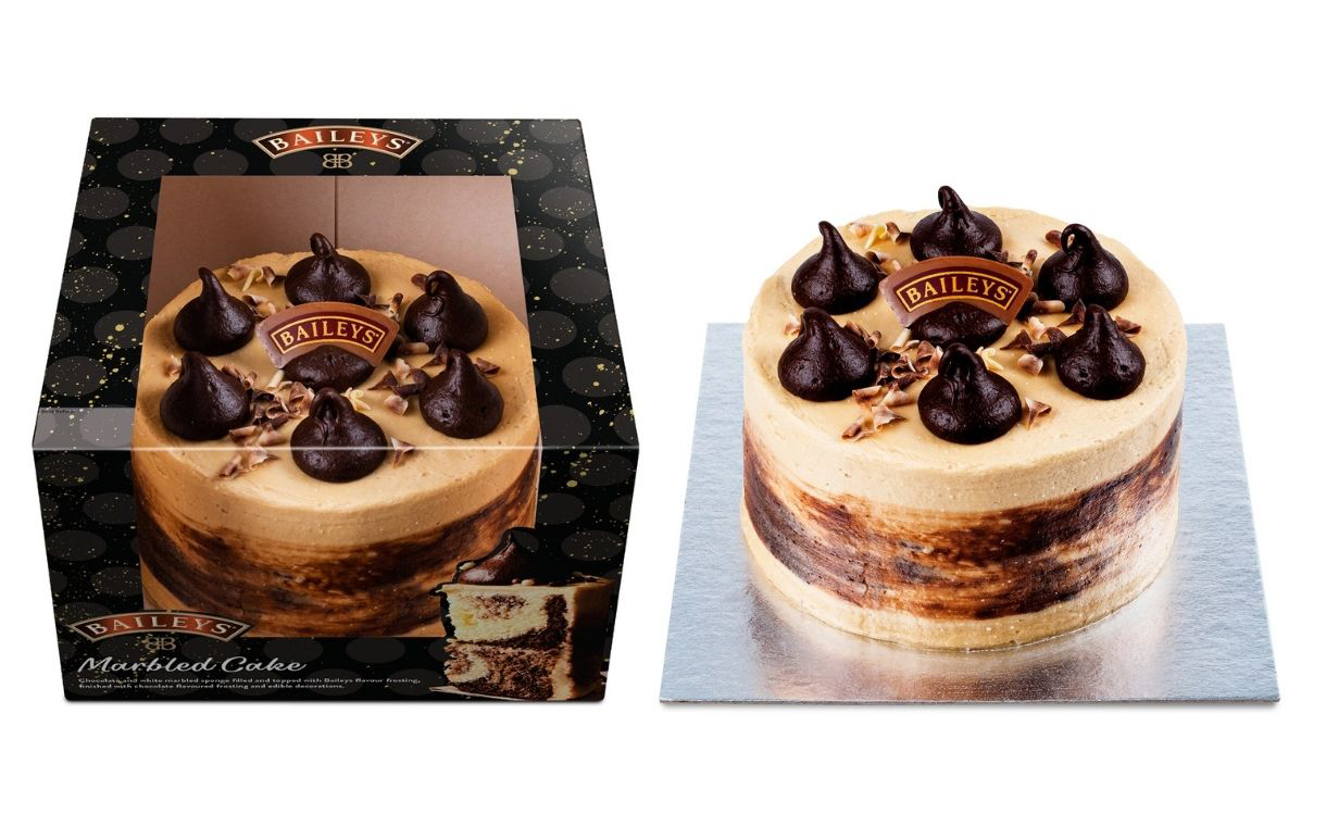 Finsbury Food Group debuts new Baileys-infused marble cake