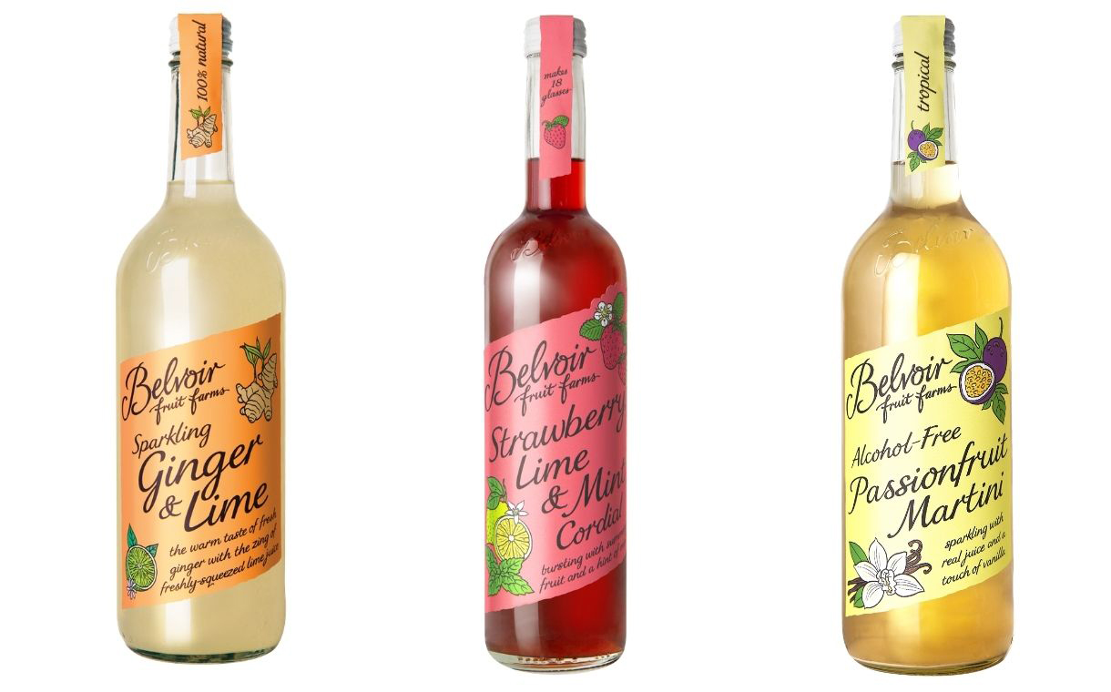 Belvoir unveils three new drinks for October