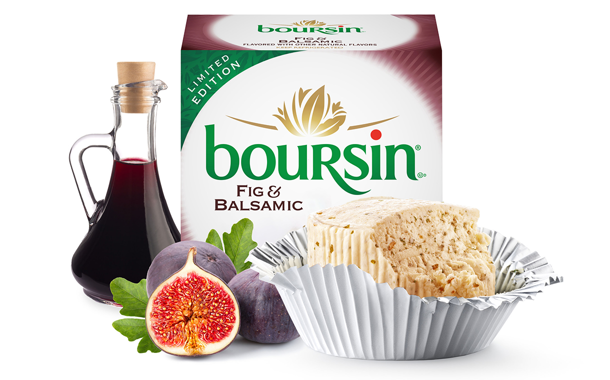 Bel Brands unveils new fig and balsamic Boursin cheese