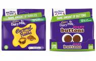 Mondelēz cuts Cadbury share bags packaging by 15%