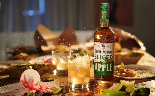 Diageo launches Captain Morgan Sliced Apple Spiced Rum