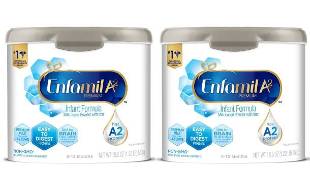 Enfamil debuts infant formula made with A2 milk proteins
