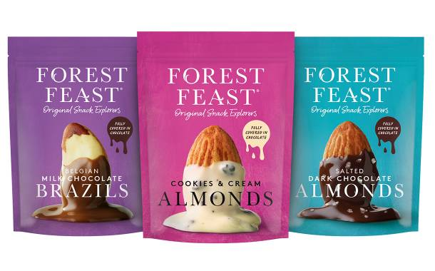 Forest Feast releases Signature Chocolate Nut range in UK