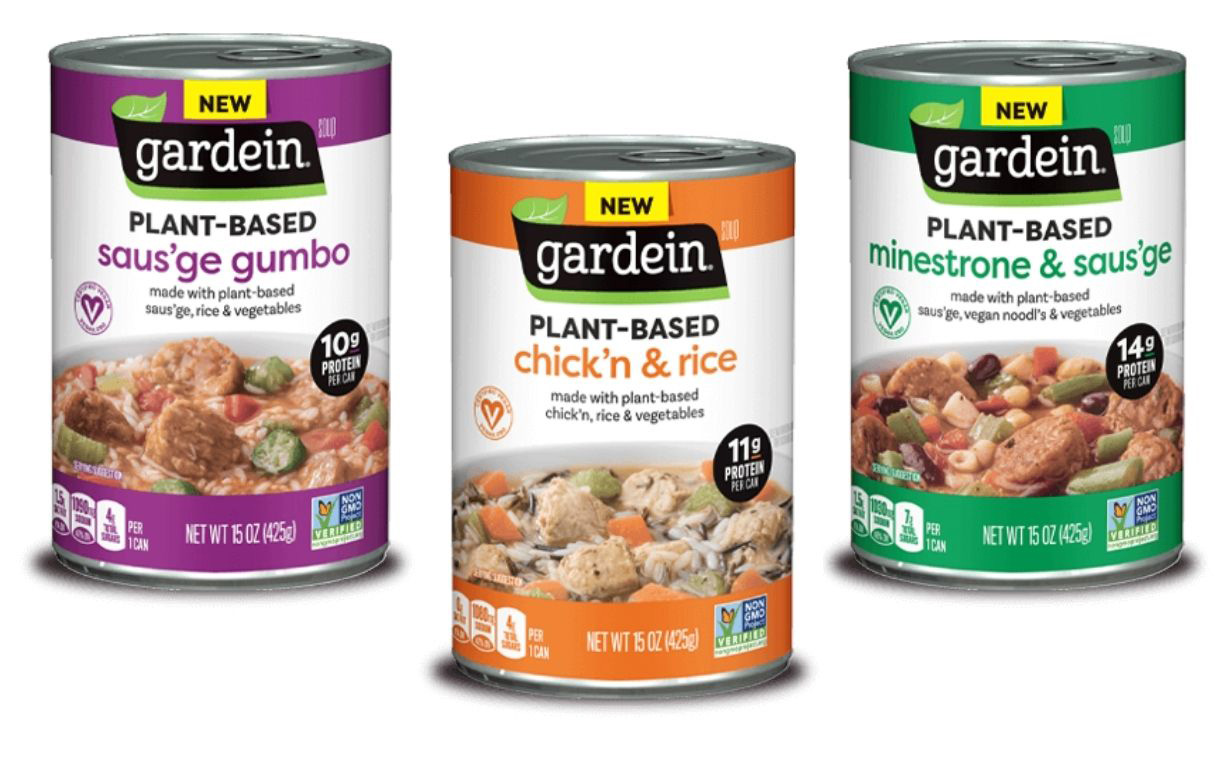 Gardein debuts soups featuring plant-based meat alternatives