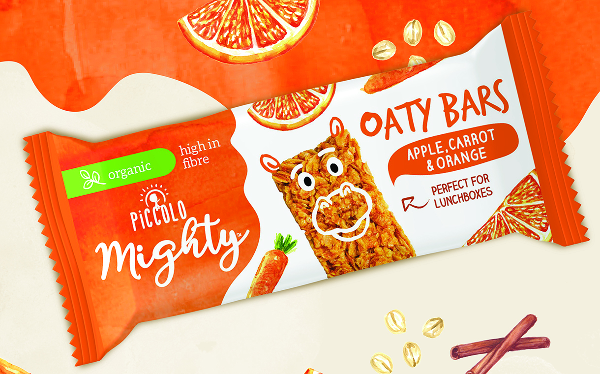 Piccolo launches duo of high-fibre melts and bars for kids