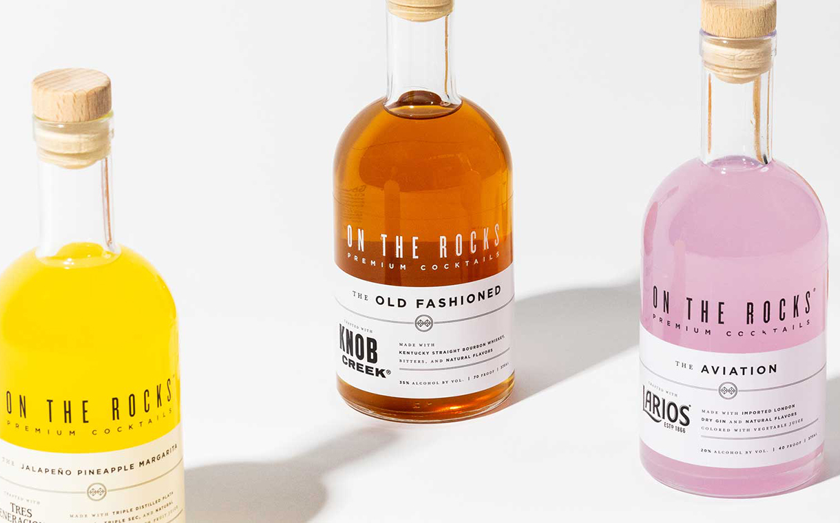 Beam Suntory acquires cocktail brand On The Rocks