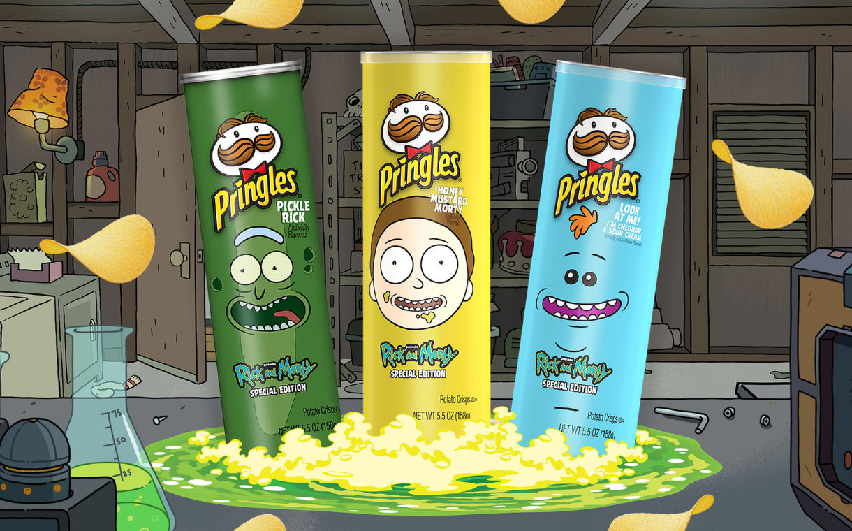 Pringles launches more <i>Rick And Morty</i>-inspired flavours