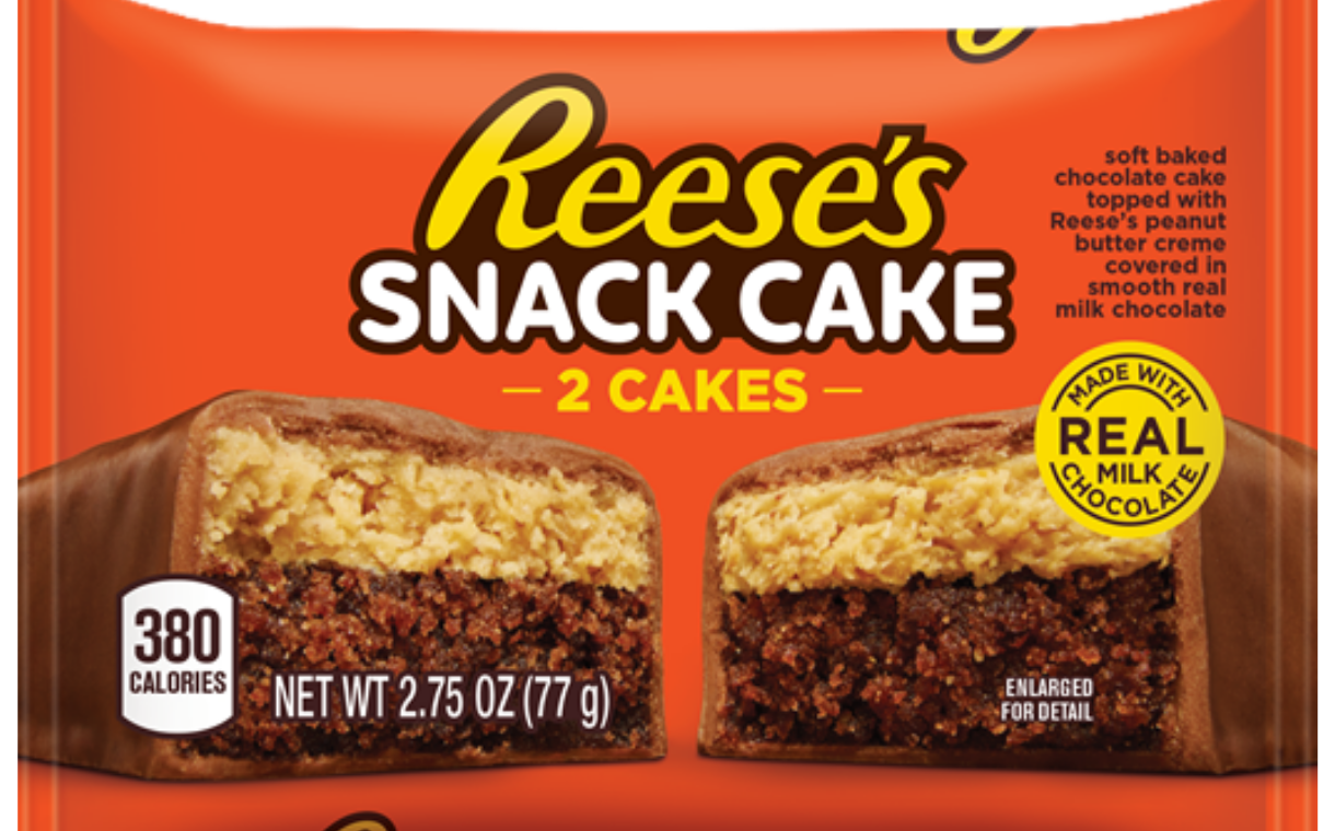 Reese's brand launches new Snack Cakes