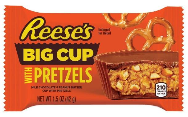 Hershey unveils pretzel-filled Reese's Cups in US