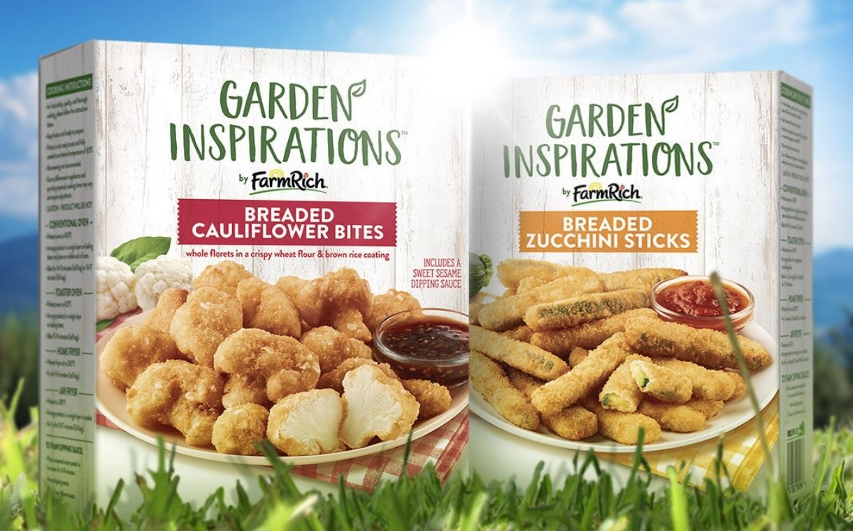 Farm Rich unveils new plant-based snack and appetiser options