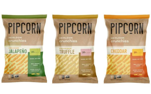 Pipcorn introduces corn-based Heirloom Crunchies snack