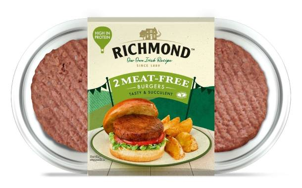 Richmond launches Meat-Free Burgers in UK