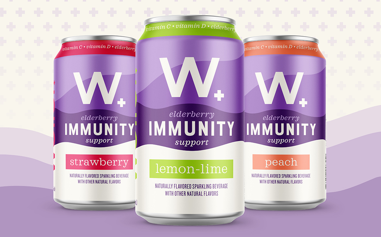 Weller launches Sparkling Immunity canned water range