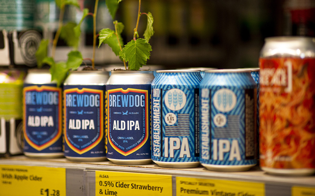 BrewDog and Aldi partner to launch limited-edition IPA