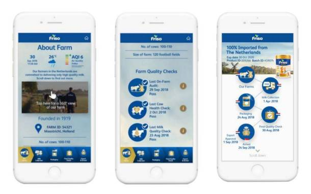 FrieslandCampina launches traceability technology for Friso brand
