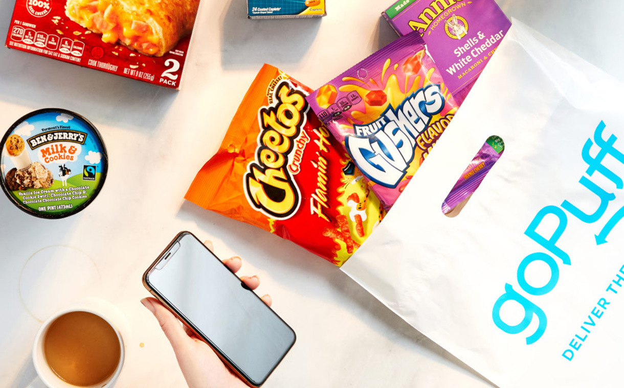 GoPuff secures $380m to grow its food delivery service