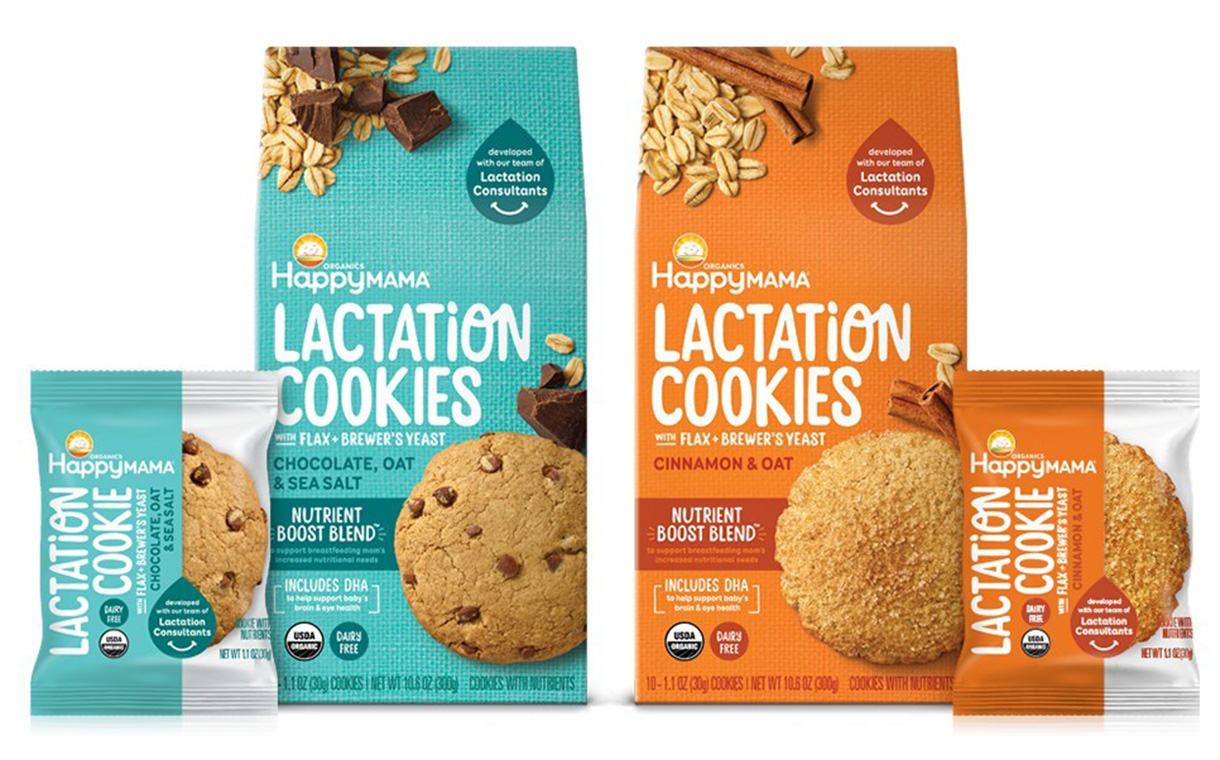 Happy Family Organics launches lactation cookies in US