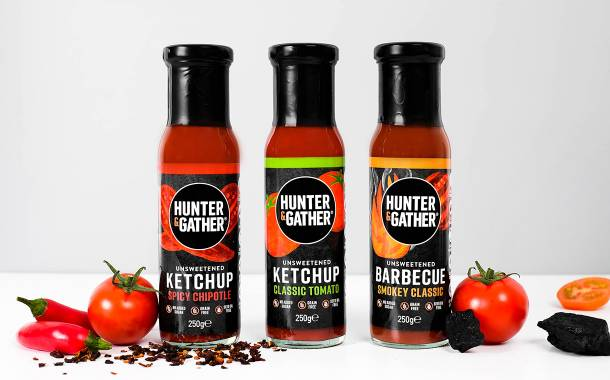 Hunter & Gather launches three unsweetened ketchups in UK