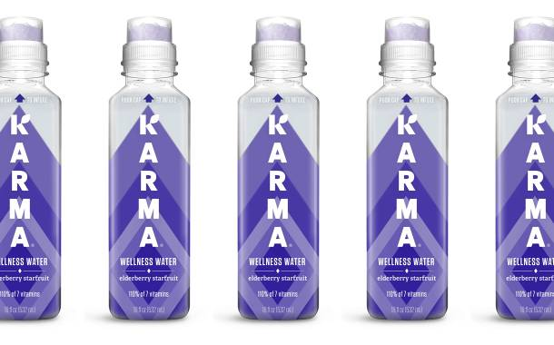 Karma Wellness Water to launch Elderberry Starfruit flavour