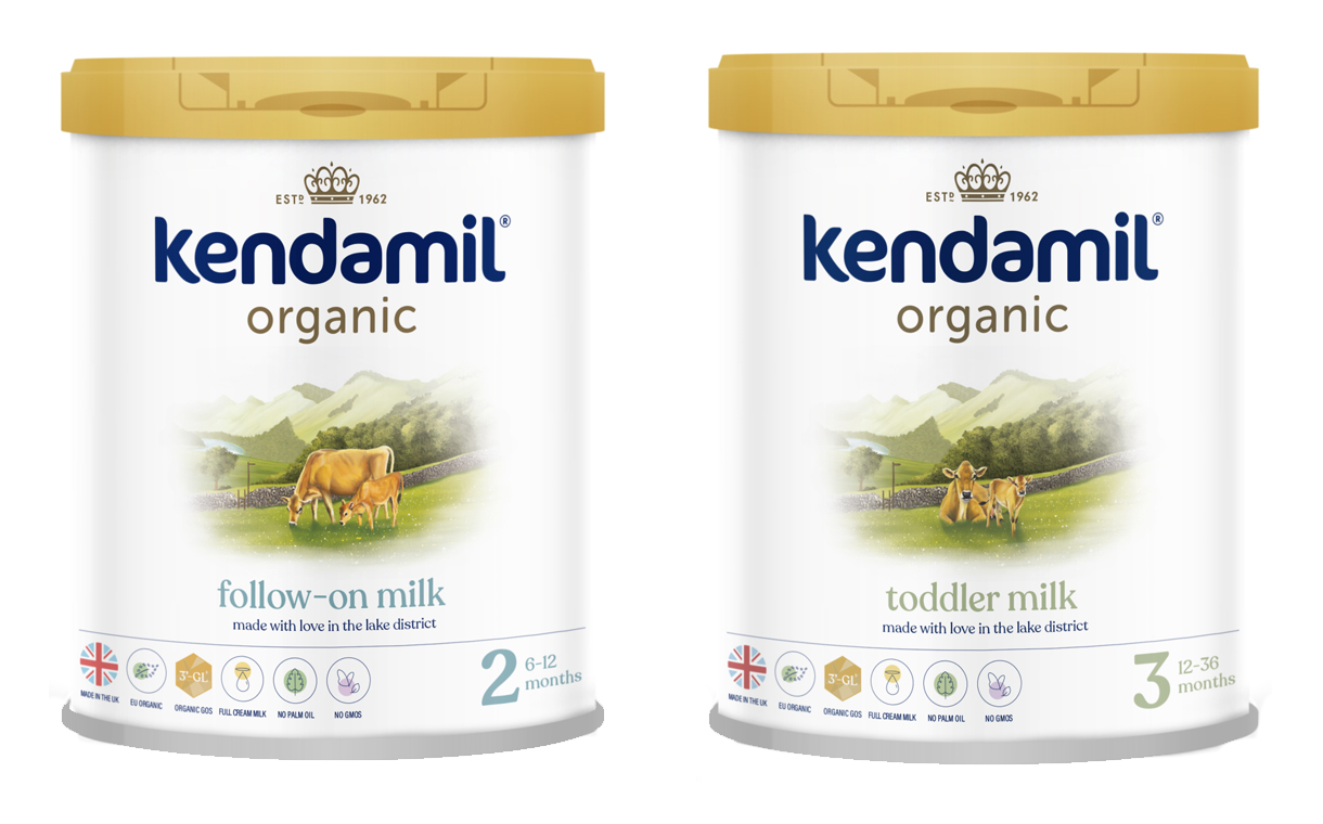 Kendamil launches organic infant formula containing HMOs