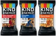Kind launches new energy bar range in US