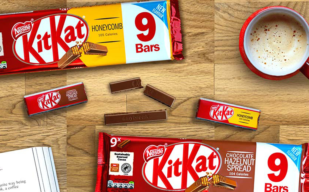 Nestlé launches two new KitKat varieties in UK