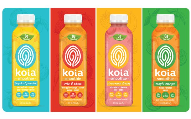 Koia launches line of zero-added-sugar smoothies