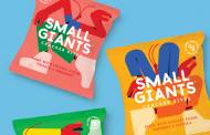 Small Giants debuts trio of insect-based crackers in UK