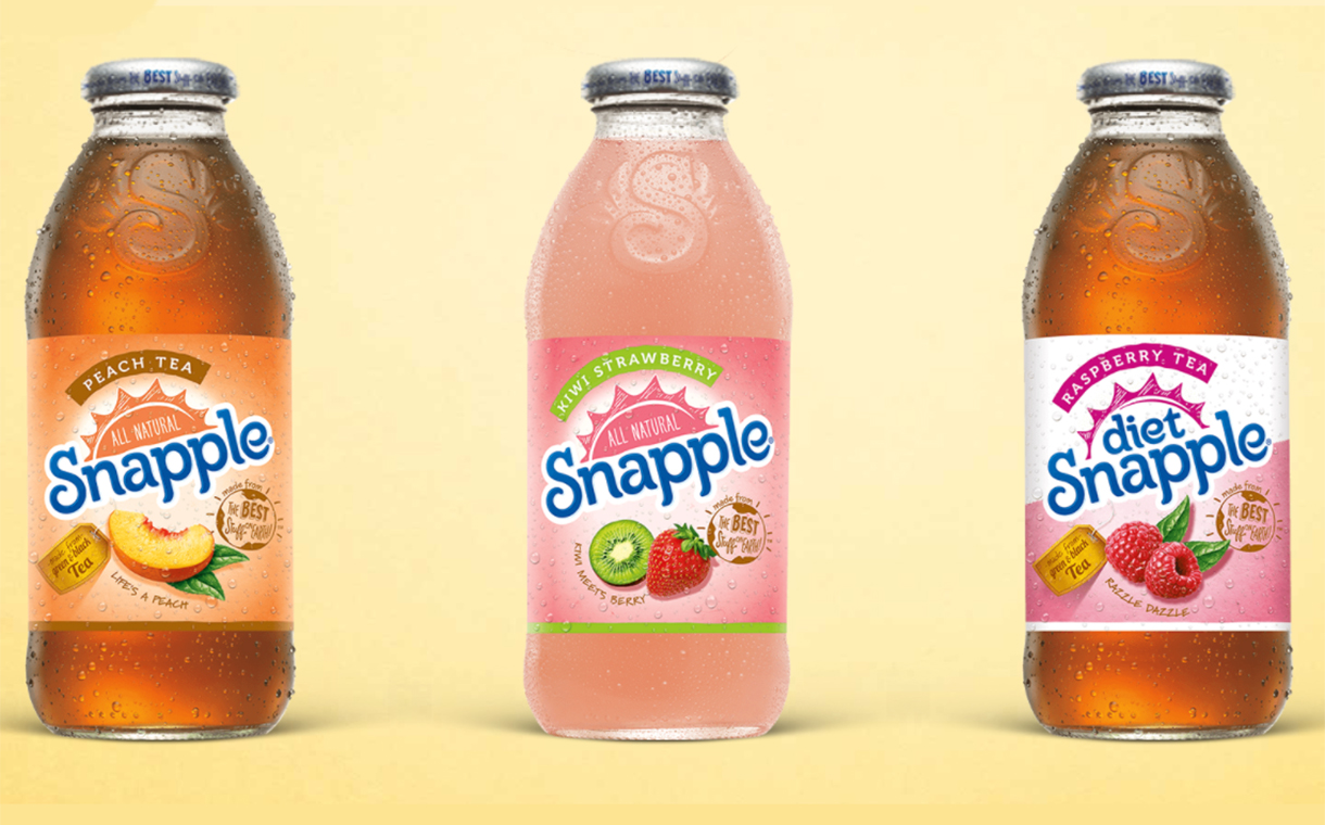 Keurig Dr Pepper to launch 100% rPET bottles for Snapple and Core brands