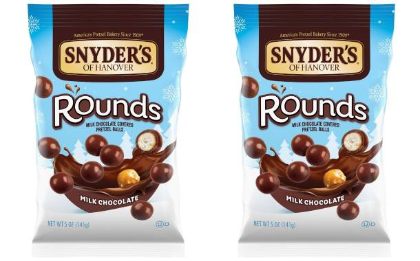 Snyder's of Hanover debuts new chocolate-coated pretzels
