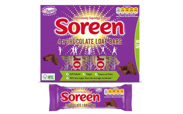 Soreen launches loaf bar multipacks with new vegan chocolate flavour
