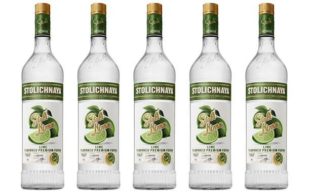 Stoli launches Stoli Lime flavoured vodka in the UK