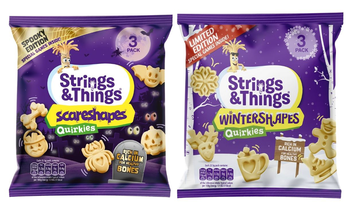 Kerry Foods introduces seasonal-themed cheese snacks