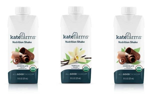 Kate Farms unveils plant-based meal replacement shakes