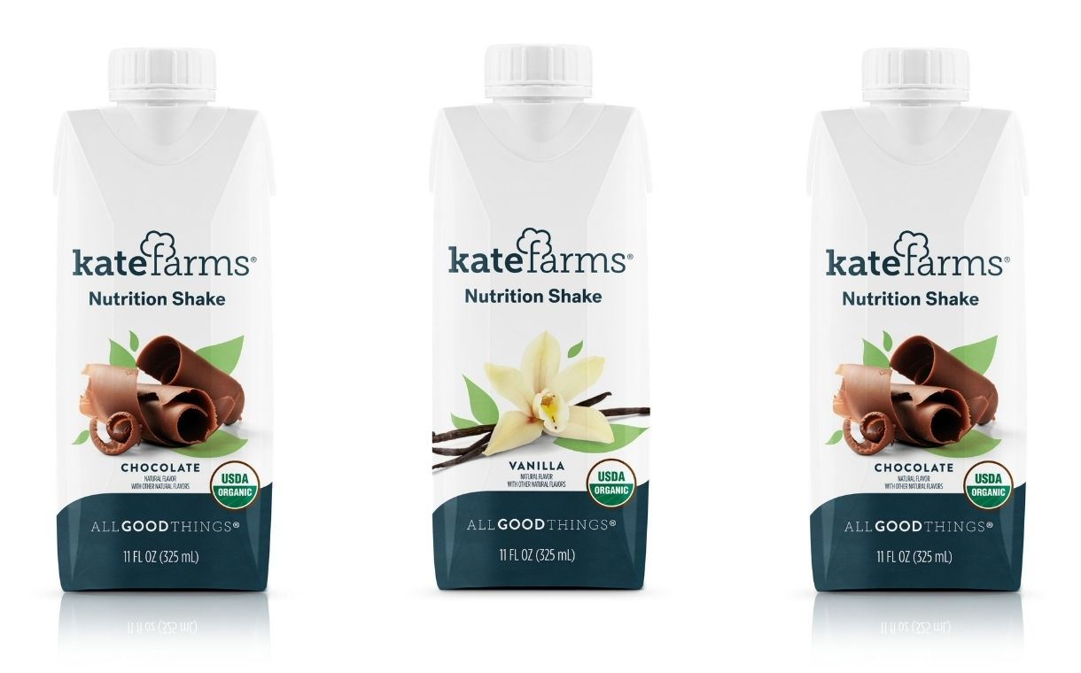Kate Farms Unveils Plant Based Meal Replacement Shakes Foodbev Media
