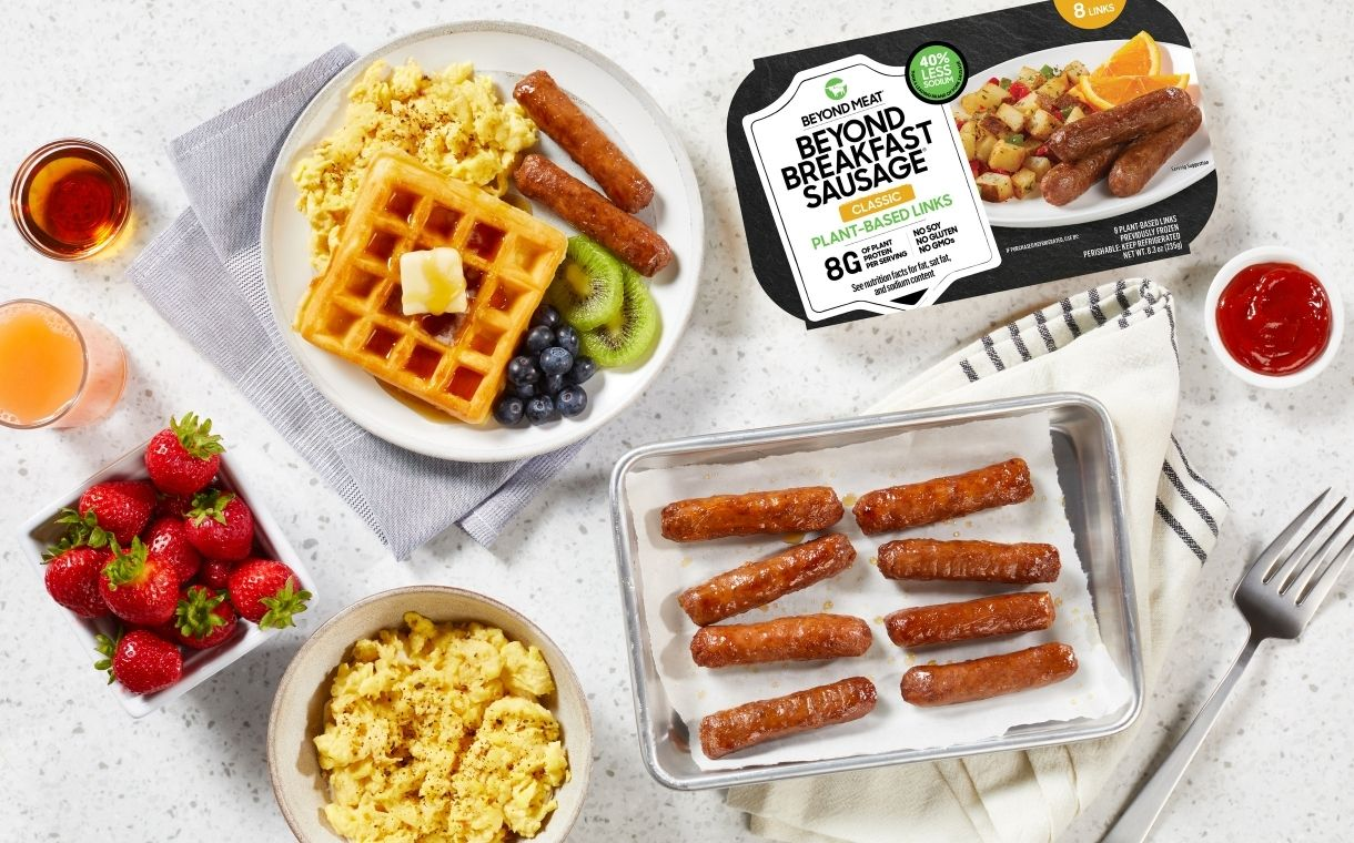 Beyond Meat expands breakfast offering with new plant-based links