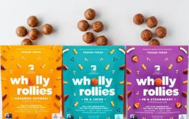 Crazy Richard's rolls out Wholly Rollies snacks nationwide in US