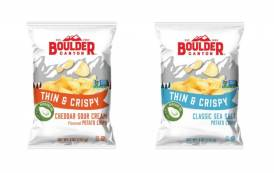 Boulder Canyon unveils thin-cut potato chips cooked in avocado oil