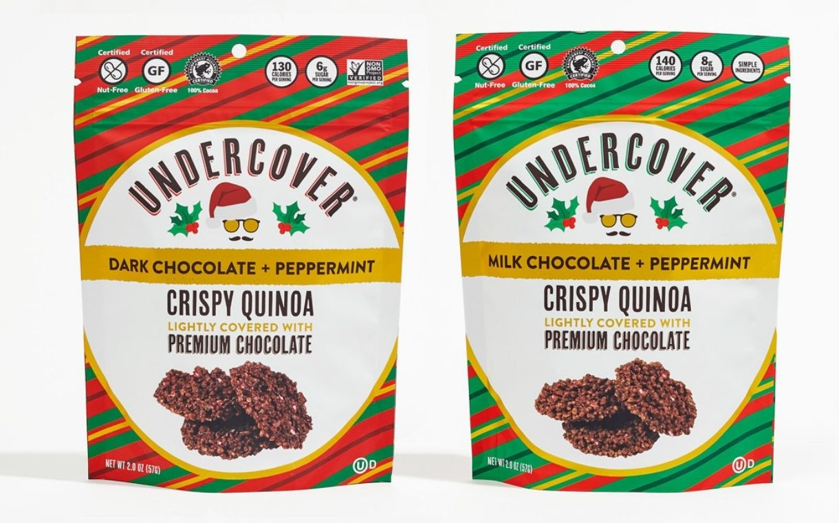 Undercover Snacks unveils new seasonal peppermint flavours