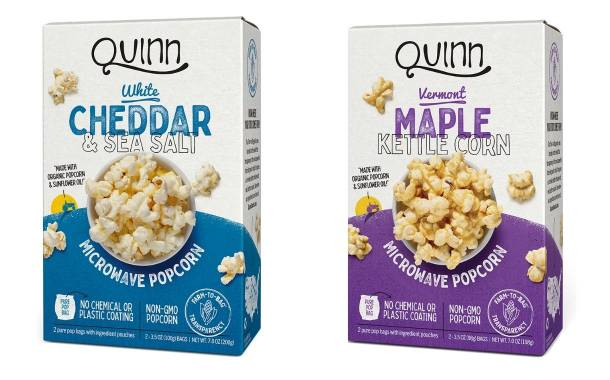 US snack brand Quinn secures $10m in funding