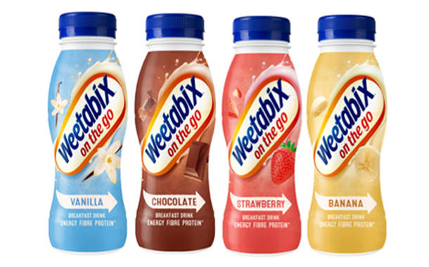 Weetabix unveils 100% recyclable bottles for its On The Go range