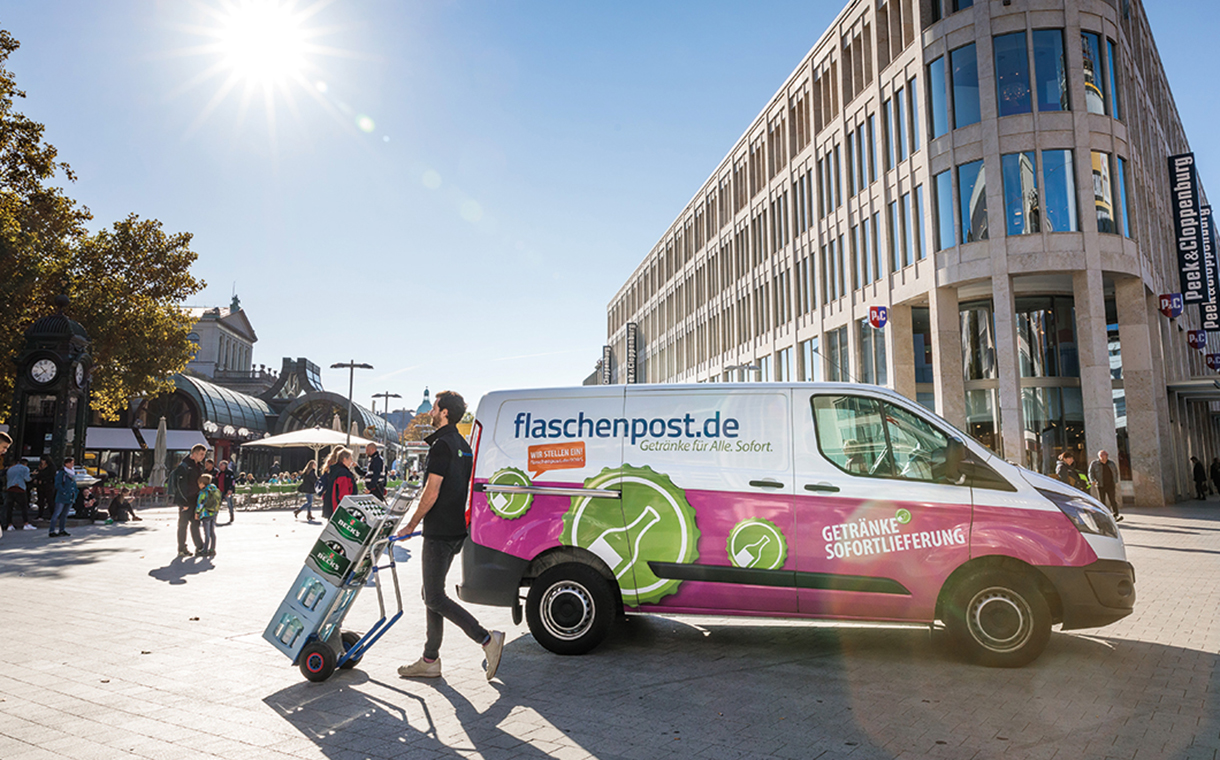 Dr. Oetker to purchase online drinks delivery firm Flaschenpost