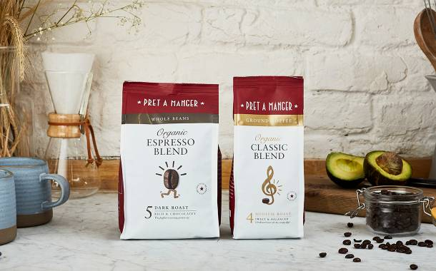 Pret a Manger launches retail coffee range in the UK