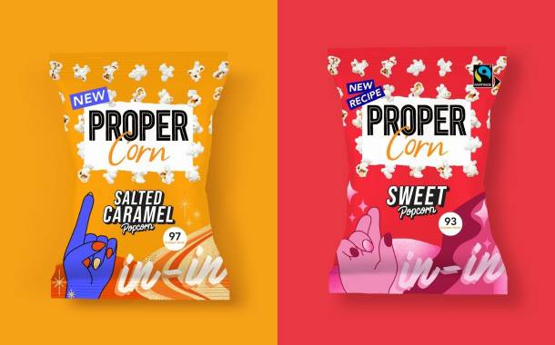 Proper debuts two new popcorn flavours in UK