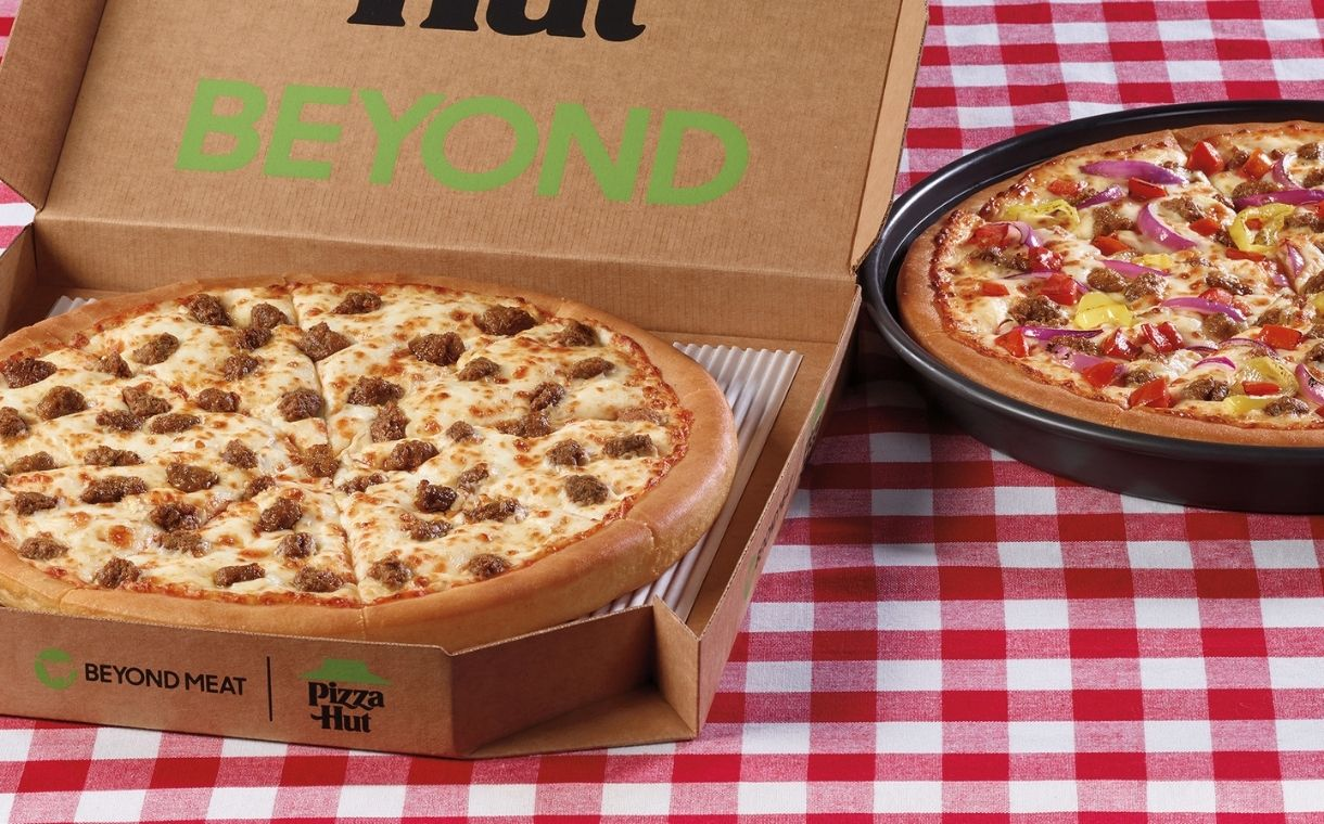 Beyond Meat launches into Pizza Hut in latest foodservice deal