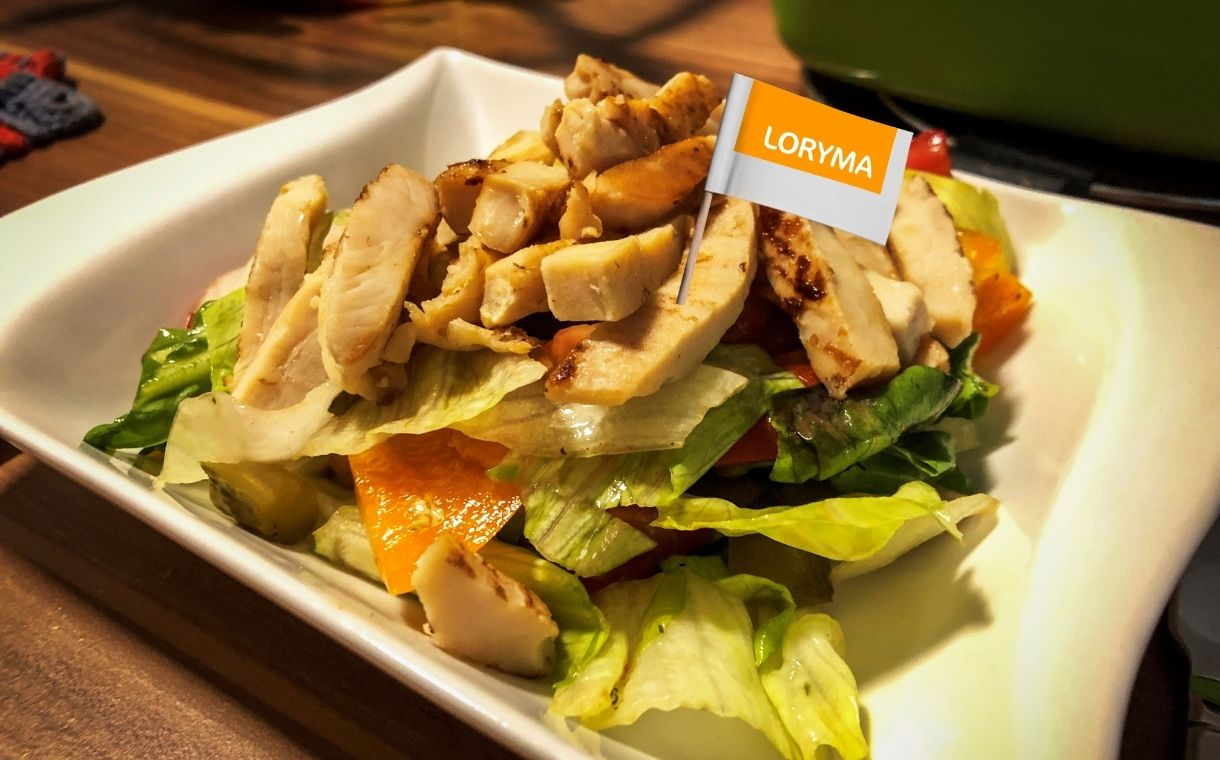 Loryma unveils chicken breast substitute for vegan convenience food